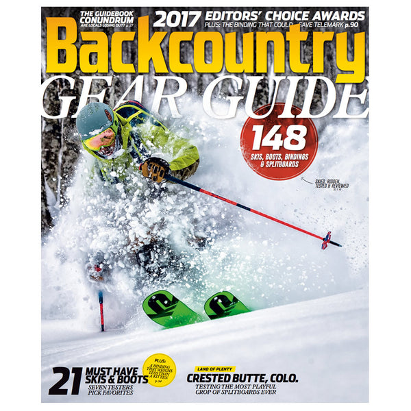 Backcountry Magazine September 2016 - 2017 Gear Guide
