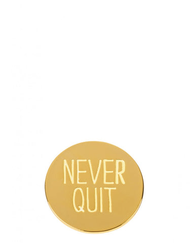 Never Quit Locket Charm