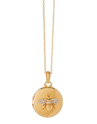 Gold Bee Locket