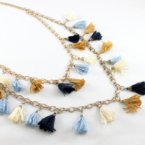 Ashley Tassel Necklace