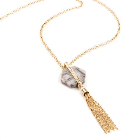 Josie Tassel Necklace
