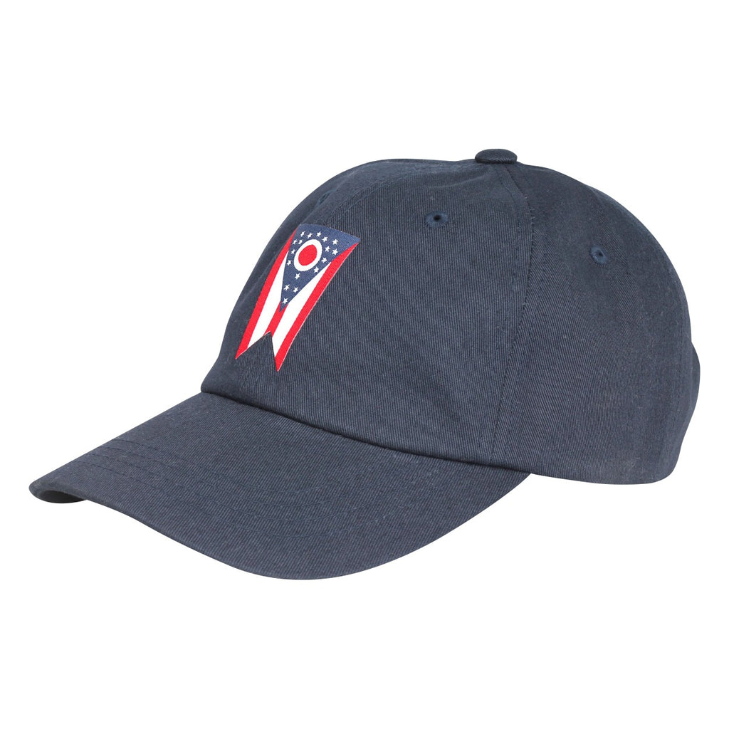 Ohio Flag Patch Dad Hat