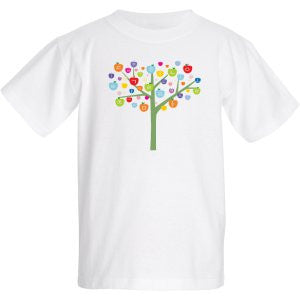Shirt - Korean Hangul Alphabet Tree