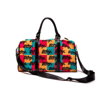 iLTHY Color Checkered Duffle Bag
