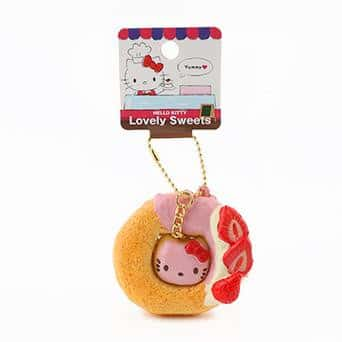 Sanrio Hello Kitty Lovely Sweets Series Keychain Squishy (Donut) - Hamee.com