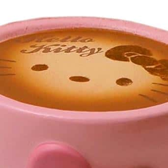 Sanrio Hello Kitty Lovely Sweets Series Keychain Squishy (Latte) - Hamee.com
