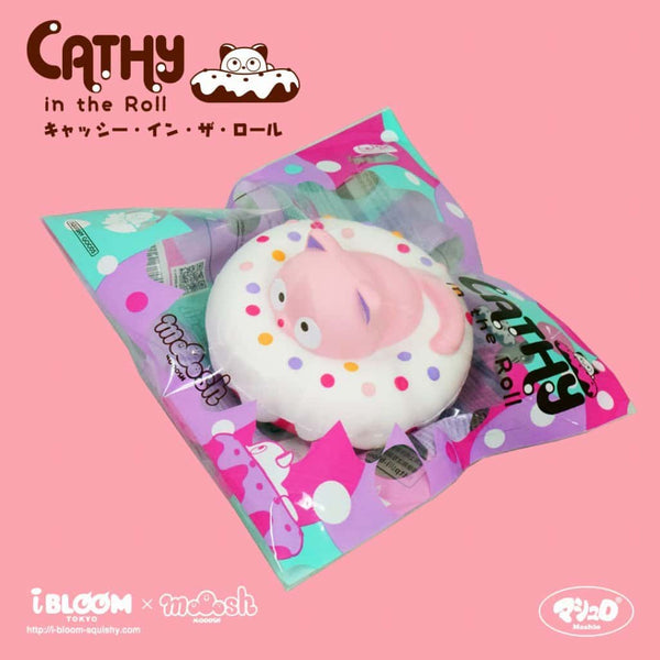 [Genuine] iBloom Cathy in The Roll Scented Slow Rising Animal Squishy - Hamee.com