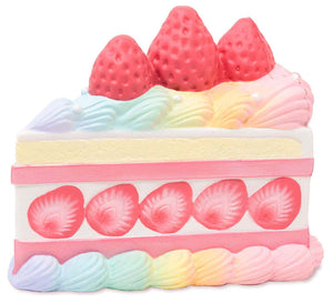 [Genuine] iBloom Squishies Princess Shortcake Slow Rising Cake Slice Squishy - Hamee.com