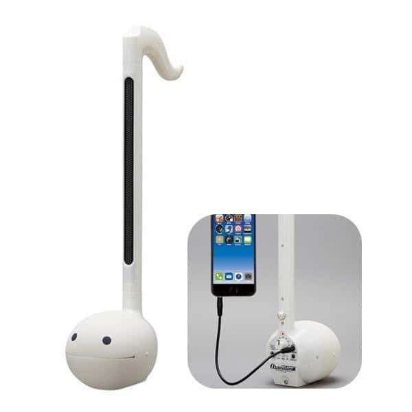Otamatone Techno Musical Toy with Smartphone Connectivity from Maywa Denki - White - Hamee.com