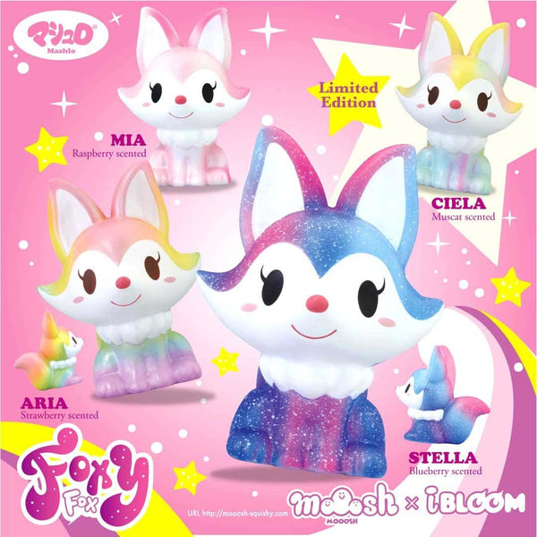 iBloom Foxy Fox Scented Slow Rising Animal Squishy - Hamee.com