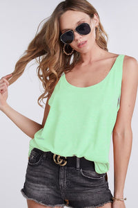 Basic Knit Tank (Mint)