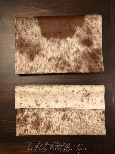 Cowhide Changing Pads