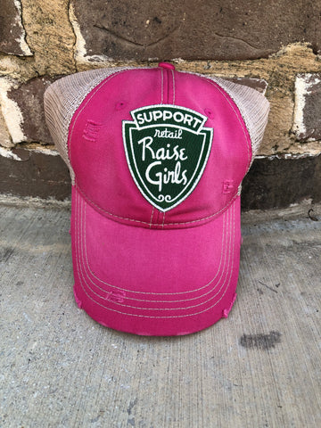 Support Retail, Raise Girls Cap