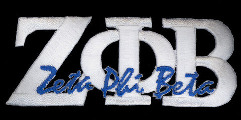 Zeta White Signature Patch