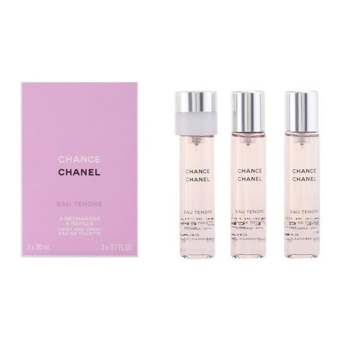 Women's Perfume Chance Eau Tendre Chanel EDT (3 pcs)-Universal Store London™