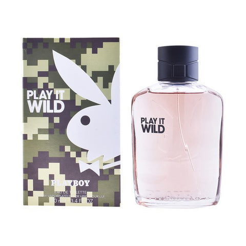 Men's Perfume Play It Wild Men Playboy EDT (100 ml)-Universal Store London™