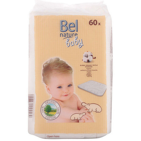 Cotton Wool Pads Nature Bel (60 uds)-Universal Store London™