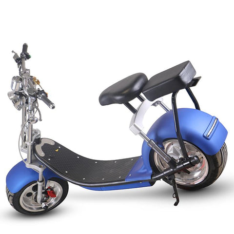 CityBot Fatboy Harley Style Road Legal Fat Wheel Electric Scooter Cruiser-Universal Store London™