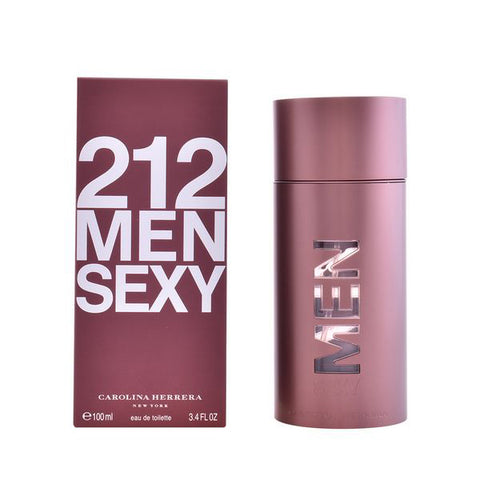 Image of Men's Perfume 212 Sexy Men Carolina Herrera EDT (100 ml)-Universal Store London™