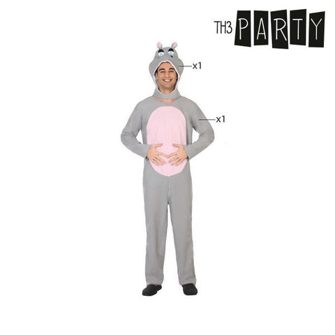 Image of Costume for Adults Th3 Party Hippopotamus-Universal Store London™