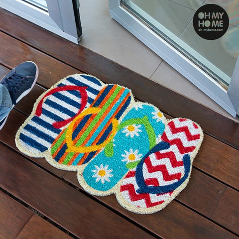 Oh My Home Flip-flop Doormat-Universal Store London™