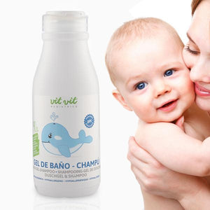 Bath Gel and Shampoo for Children-Universal Store London™