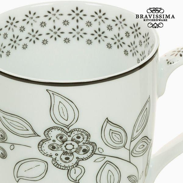 Cup Porcelain Flowers - Kitchen's Deco Collection by Bravissima Kitchen-Universal Store London™