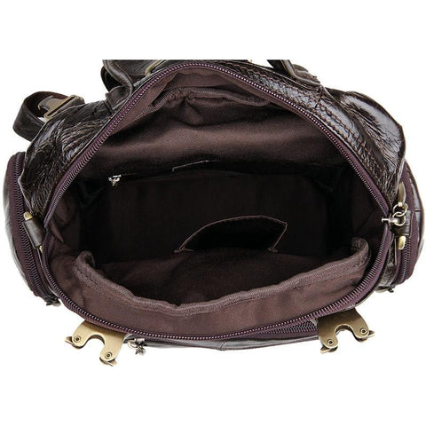 Image of Herald Small Leather Backpack-Universal Store London™