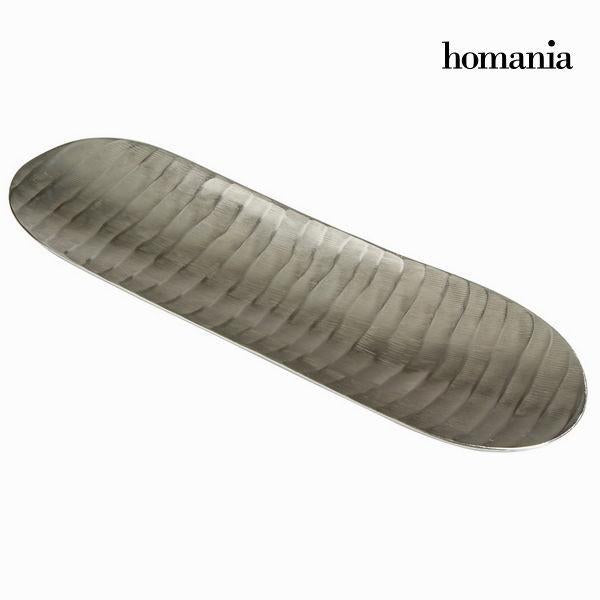 Rectangular nickel centrepiece - New York Collection by Homania-Universal Store London™