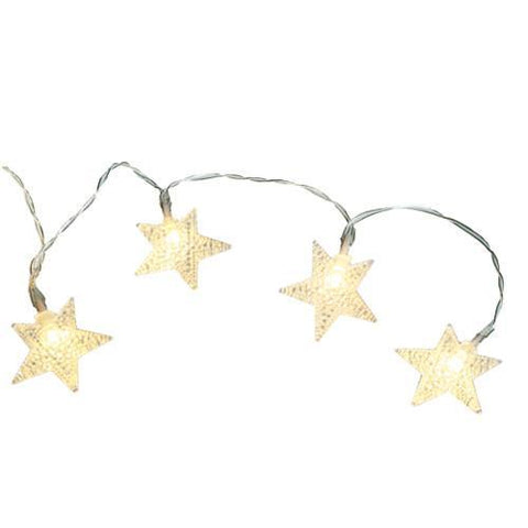 Image of Stars Garland with Lights-Universal Store London™