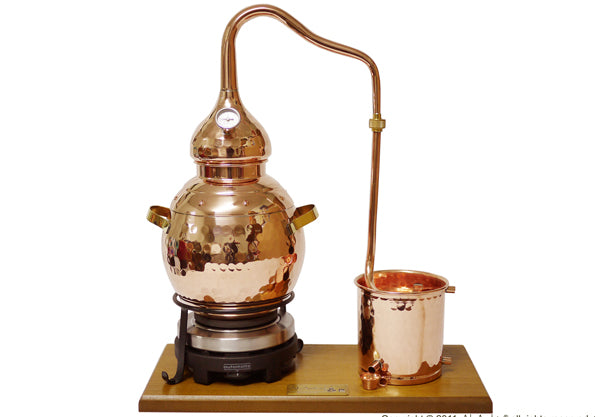 2,5L Alembic Premium, Thermometer & Electric Plate
