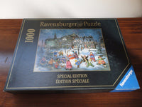 Ravensburger Puzzle Canadian Artist Pauline Paquin Winter Magic Old Montreal