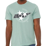 The Tristar State Tee - Seafoam Blue