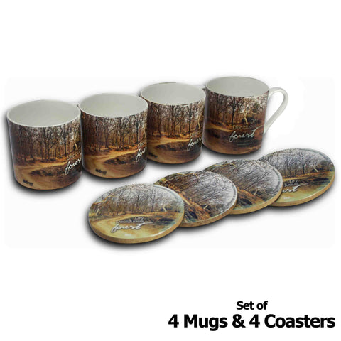 Forests of India - Madhya Pradesh - Mugs & Coasters - Hot Muggs - 1