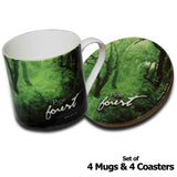 Forests of India - Himachal Pradesh - Mugs & Coasters - Hot Muggs - 2