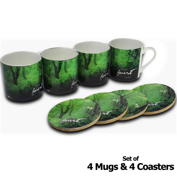 Forests of India - Himachal Pradesh - Mugs & Coasters - Hot Muggs - 1