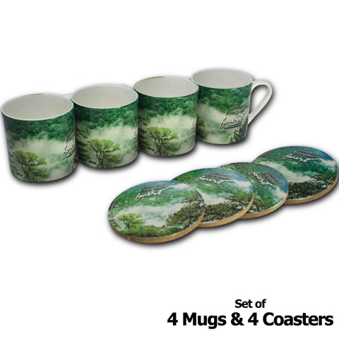 Forests of India - Arunachal Pradesh - Mugs & Coasters - Hot Muggs - 1