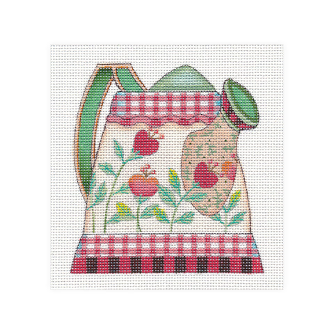 Needlepoint Canvas: Sow Good Watering Can