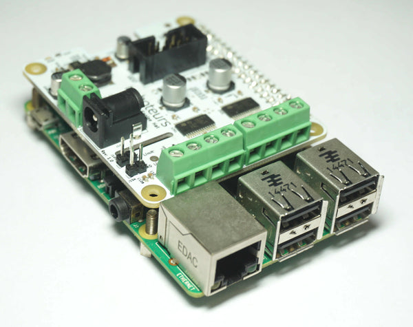 SlushEngine: Raspberry Pi HAT Stepper Motor Driver