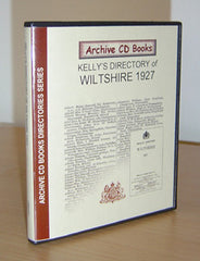 Kelly's 1927 Directory of Wiltshire