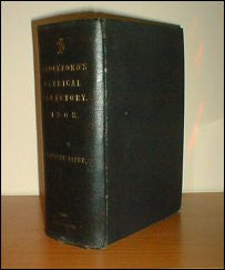 Crockford's Clerical Directory 1908