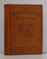 Image unavailable: Newspaper Press Directory 1927