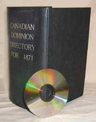 Lovell's Canadian Dominion Directory (All six provences) - 1871