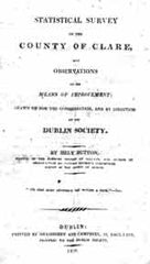 Image unavailable: Statistical Survey of County Clare, 1808