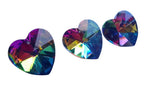 Vitrail Rainbow Heart Chandelier Crystals Pack of 5 - ChandelierDesign