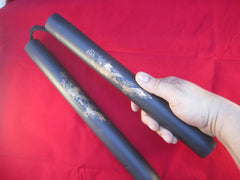 "Foam Practice 12"" Nunchucks - Black"
