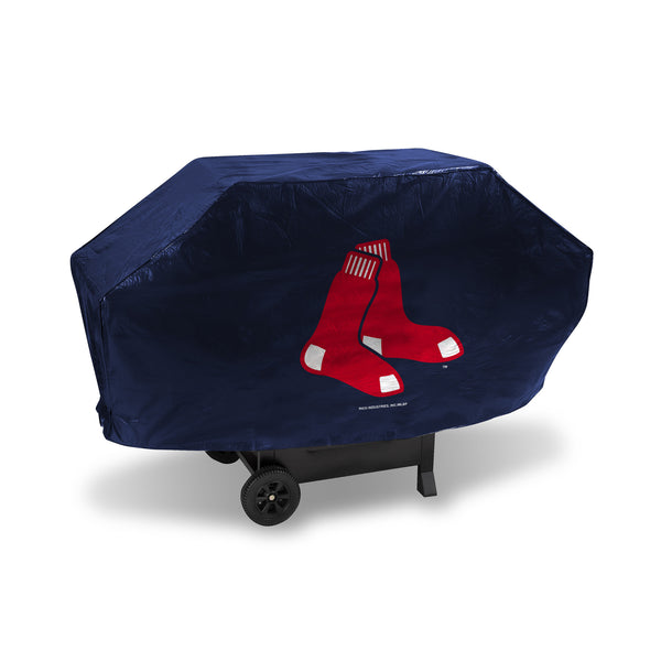 Red Sox Deluxe Vinyl Grill Cover