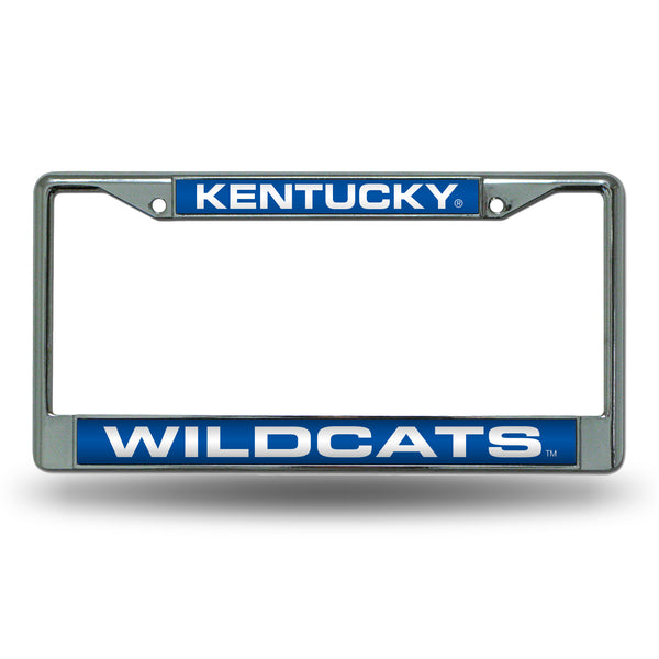 Kentucky Chrome License Plate Frame