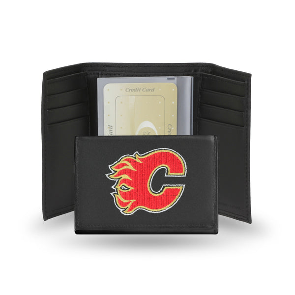 Flames Embroidered Trifold