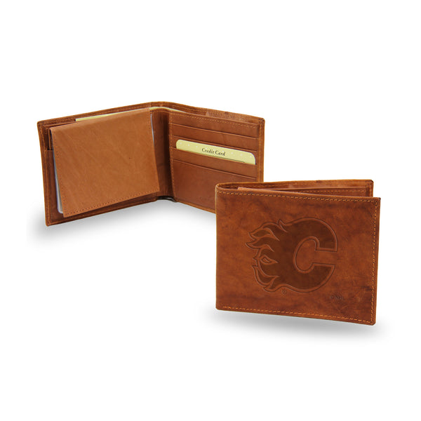 Flames Embossed Billfold